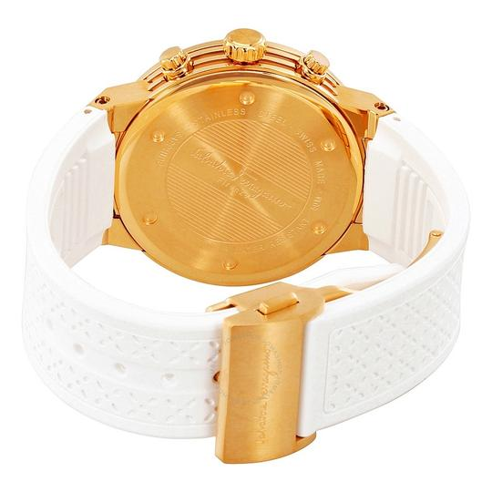Salvatore Ferragamo Rose Gold Ion Plated Stainless Steel F-80 Women's Wristwatch 39MM Image 3