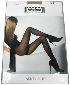 Wolford Individual 10 Light Support Tight Panyhose XSmall