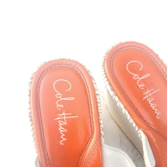 Cole Haan Ivory and orange Wedges Image 3