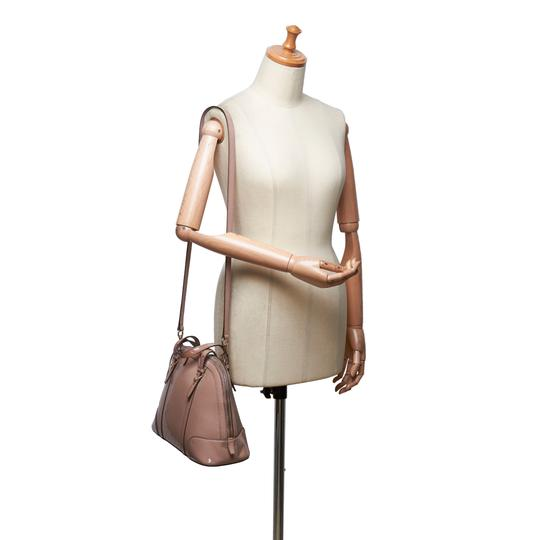 Gucci 9fgust014 Vintage Patent Leather Satchel in Brown Image 11