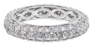 CZ by Kenneth Jay Lane Pave Cz Domed Band Ring