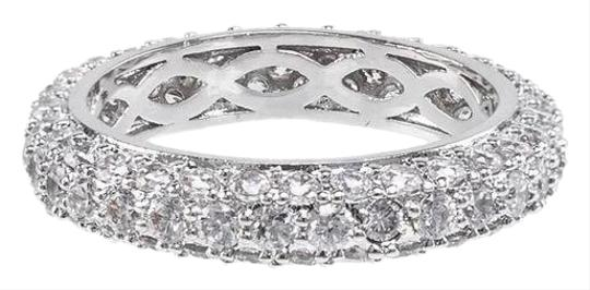 Preload https://img-static.tradesy.com/item/25726684/cz-by-kenneth-jay-lane-clear-silver-pave-domed-band-ring-0-1-540-540.jpg