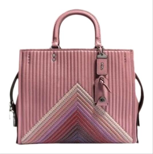 Preload https://img-static.tradesy.com/item/25726705/coach-rogue-1941-quilted-nappa-color-block-pink-leather-satchel-0-1-540-540.jpg