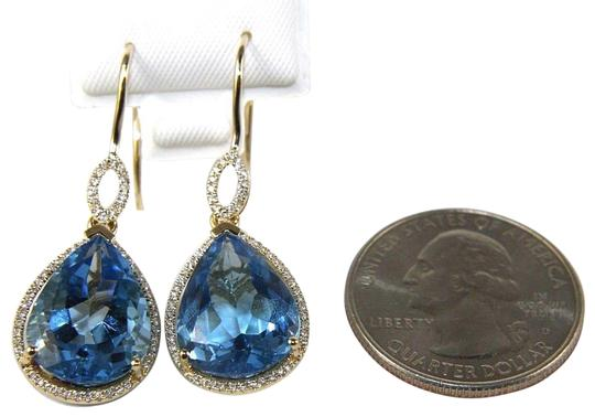 Preload https://img-static.tradesy.com/item/25726758/blue-pear-topaz-and-diamond-drop-dangle-14k-yellow-gold-1702ct-earrings-0-2-540-540.jpg
