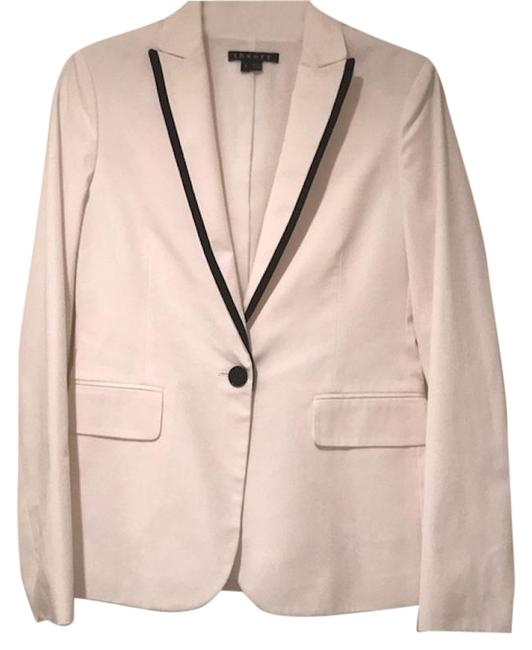 Preload https://img-static.tradesy.com/item/25726808/theory-white-cotton-with-piping-blazer-size-4-s-0-1-650-650.jpg