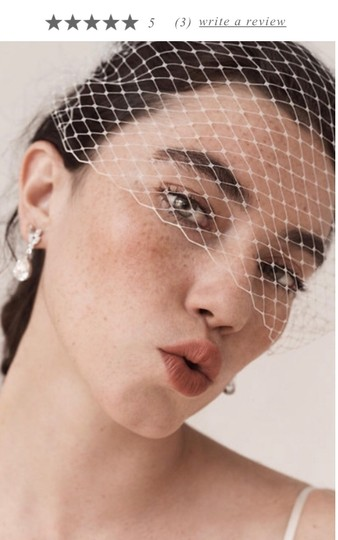 BHLDN Crystal Silver Whit By Ti Adoro Earrings Image 1