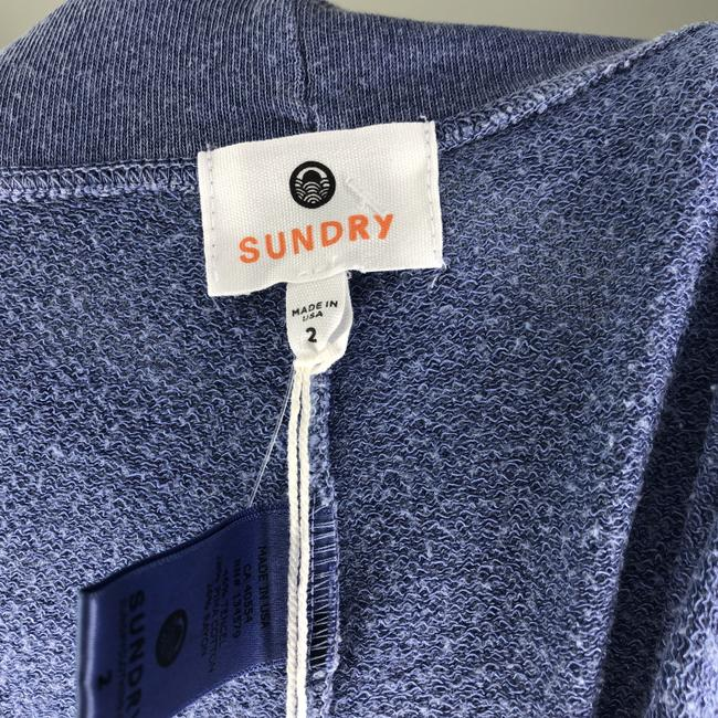 Sundry Embroidered Anthropologie Revolve Jogger Joggers Athletic Pants Blue Image 2