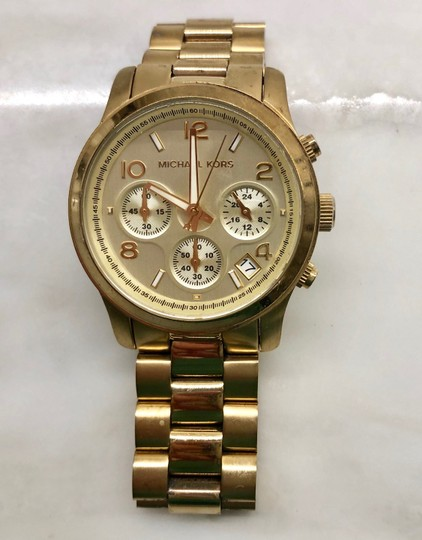 Michael Kors Chronograph Bracelet Watch Image 2