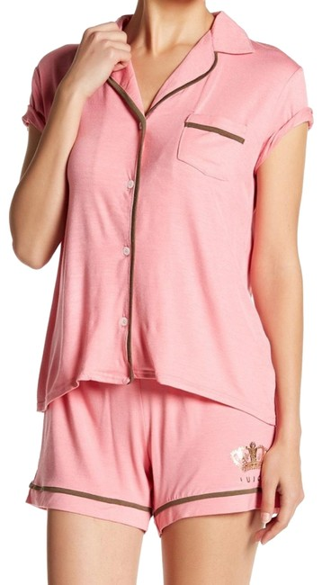 Preload https://img-static.tradesy.com/item/25727056/juicy-couture-cabana-pink-button-pajama-set-button-down-top-size-16-xl-plus-0x-0-2-650-650.jpg