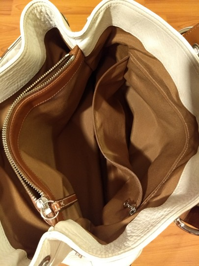 Coach 1941 Tote in white and brown Image 6