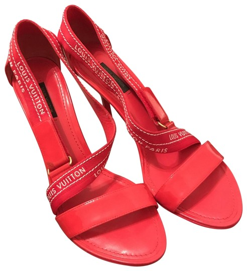 Preload https://img-static.tradesy.com/item/25727073/louis-vuitton-red-white-patent-leather-monogram-sandals-platforms-size-us-9-narrow-aa-n-0-1-540-540.jpg