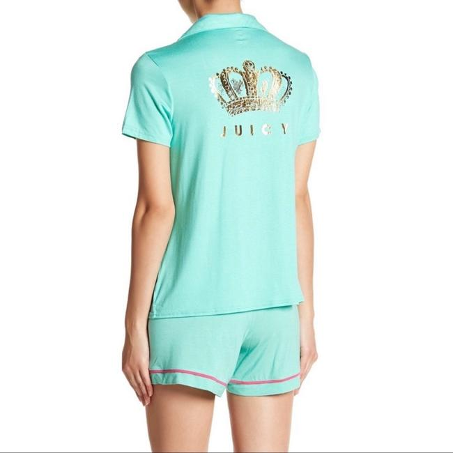Juicy Couture Button Down Shirt Aruba blue Image 1