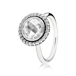 PANDORA Brilliant Legacy Ring, Clear CZ size 58