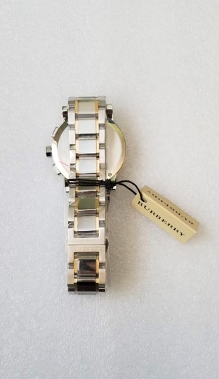 Burberry New Burberry The City Two-tone Chronograph Unisex Bu9751 Watch Image 3