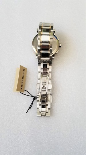 Burberry New Burberry The City Two-tone Chronograph Unisex Bu9751 Watch Image 4