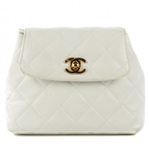 Chanel Vintage Waist Belt Bum Banane Cross Body Bag