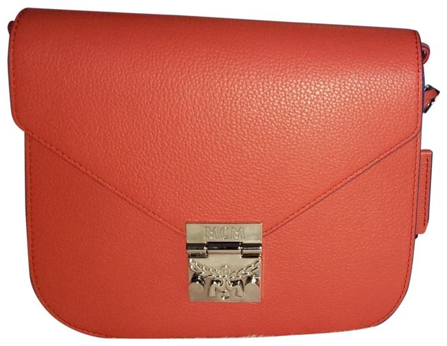 MCM Shoulder Patricia In Park Avenue Small Red Leather Cross Body Bag MCM Shoulder Patricia In Park Avenue Small Red Leather Cross Body Bag Image 1