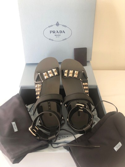 Prada Black Sandals Image 5
