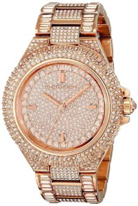 Michael Kors Camille Stainless Steel Pave Crystal MK5862