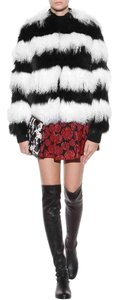 Alice + Olivia Fur black/white Jacket