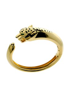 Cartier Panthere Gold Bangle Bracelet