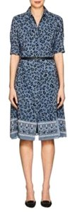 Altuzarra short dress Blue on Tradesy