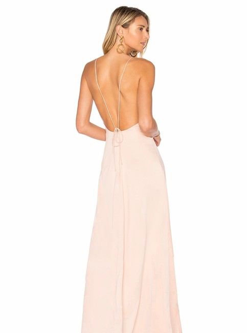 Privacy Please Nude Elm Long Formal Dress Size 0 (XS