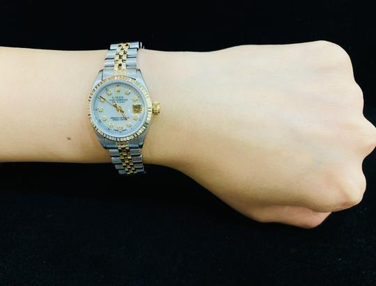Rolex 26MM LADIES DATEJUST GOLD AND STAINLESS STEEL WITH APPRAISAL Image 8