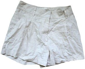 Paper Crown Dress Shorts Cream