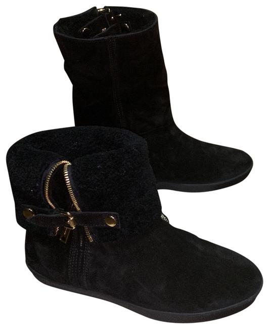 Item - Black Stanleigh Weather Flat Ankle Boots/Booties Size EU 37 (Approx. US 7) Regular (M, B)