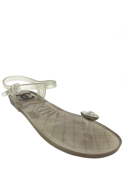 Chanel Clear Sandals Image 0