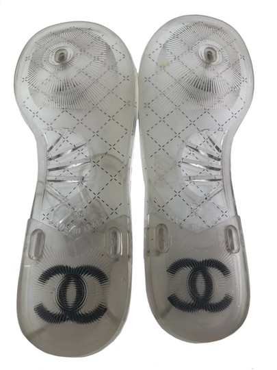 Chanel Clear Sandals Image 2