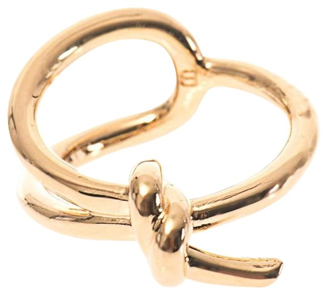 Item - Gold Knot Plated Size 50 Ring