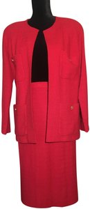 Chanel Chanel Red Power Suit