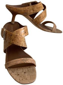 Donald J. Pliner Cork Wedges