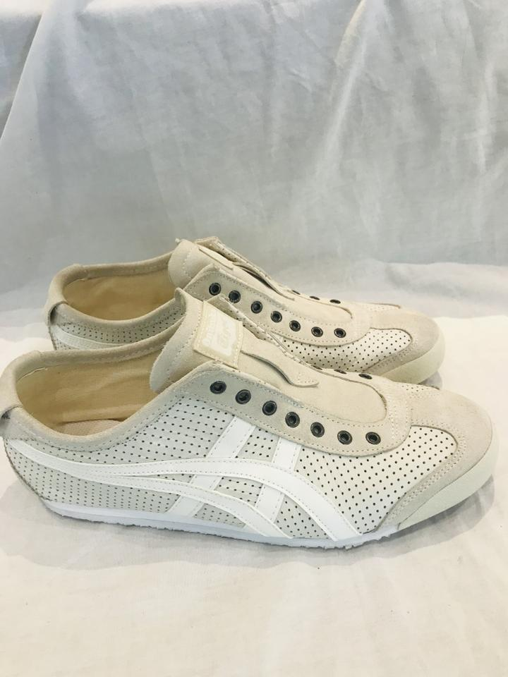 the best attitude 79da9 06866 Onitsuka Tiger White By Asics Unisex Mexico 66 Slip-on Sneakers Size EU  41.5 (Approx. US 11.5) Regular (M, B)