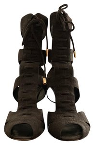 Louis Vuitton brown Platforms