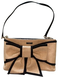 Kate Spade tan and black Messenger Bag