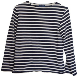 Saint James Breton Stripe Sailor Francophile Top navy