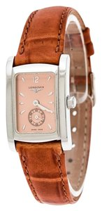 Longines Bronze Stainless Steel Dolce Vita L4.155.4 Women's Wristwatch 20 mm