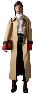 Burberry Red Cuff Rare Car 4547088 Poplin Trench Coat