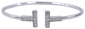 Tiffany & Co. Tiffany & Co. White Gold T Wire Diamond Bracelet