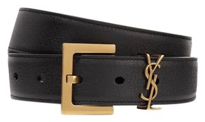 Saint Laurent monogram logo belt size 65