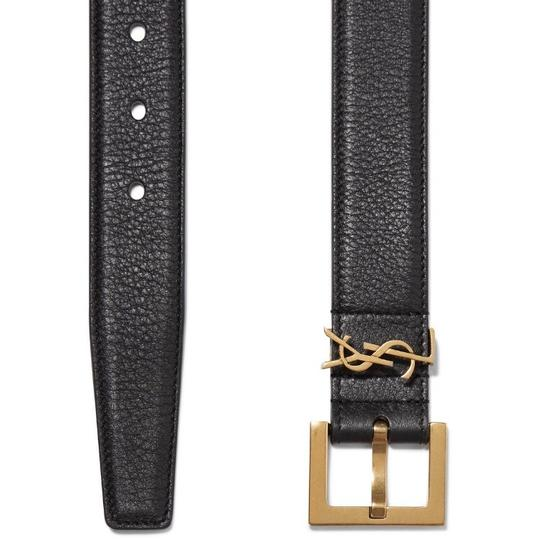 Saint Laurent monogram logo belt size 65 Image 3