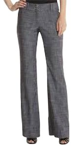 BCBGMAXAZRIA Boot Cut Pants Gray