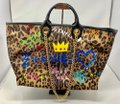 Dolce&Gabbana Tote in leopard and multi colored Image 1
