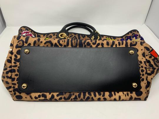 Dolce&Gabbana Tote in leopard and multi colored Image 2
