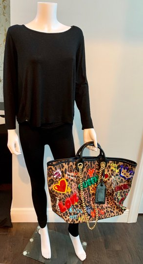 Dolce&Gabbana Tote in leopard and multi colored Image 8