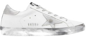 Golden Goose Deluxe Brand Sneakers Suede Superstar white, silver Athletic