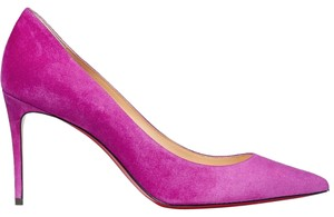 Christian Louboutin Kate Suede magenta Pumps